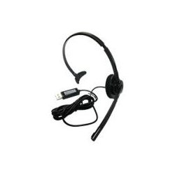 Nuance Communications - 29-K61A-33000 - Nuance Dragon Bluetooth Wireless Headset - Mono - Wireless - Bluetooth - 33 ft - Over-the-ear - Monaural - Outer-ear