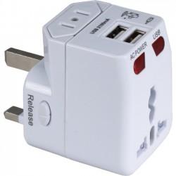 QVS - PA-C4 - QVS AC Adapter - 120 V AC, 230 V AC Input Voltage - 5 V DC Output Voltage - 2.10 A Output Current