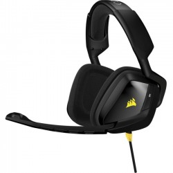 Corsair - CA-9011131-NA - Corsair VOID Stereo Gaming Headset - Stereo - Black - Mini-phone - Wired - 32 Ohm - 20 Hz - 20 kHz - Over-the-head - Binaural - Circumaural - Noise Canceling