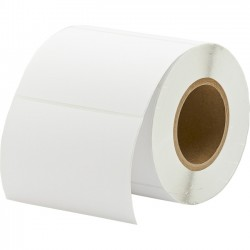 Primera Technology - 74978 - Primera 6 x 4 Matte Paper, 625 Labels - Permanent Adhesive - 6 Width x 4 Length - Rectangle - 3 Core - Inkjet - White - Paper - 625 / Roll Roll