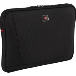Victorinox / Swiss Army - 28061010 - Swissgear Carrying Case (Sleeve) for 14 Notebook - Black - Abrasion Resistant, Scratch Resistant Interior - 9.5 Height x 14 Width x 0.5 Depth