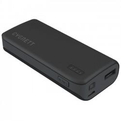 Cygnett - CY1444PBCHE - Cygnett ChargeUp Sport 4400 - Black & Grey - For Smartphone - Lithium Ion (Li-Ion) - 4400 mAh - 1 A - 5 V DC Output - 5 V DC Input - Black, Gray