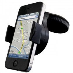 Cygnett - CY0338ACDAS - Cygnett Dashview Windscreen Car Mount - Horizontal, Vertical - Black
