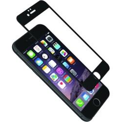 Cygnett - CY1730CPTGL - Cygnett AeroCurve Tempered Glass Aluminium Border iPhone 6 - Black Black, Clear - iPhone