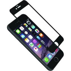 Cygnett - CY1732CPTGL - Cygnett AeroCurve Tempered Glass Aluminium Border iPhone 6 Plus - Black Black, Clear - iPhone