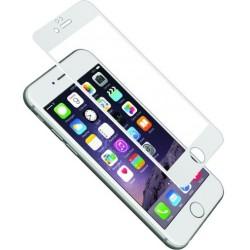 Cygnett - CY1733CPTGL - Cygnett AeroCurve Tempered Glass Aluminium Border iPhone 6 Plus - White White, Clear - iPhone