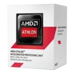 AMD (Advanced Micro Devices) - AD5350JAHMMPK - AMD Athlon 5350 Quad-core (4 Core) 2.05 GHz Processor - Socket AM1 - 2 MB - 64-bit Processing - 28 nm - AMD Radeon HD 8400 Graphics - 25 W