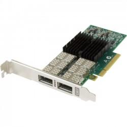 Atto Technology - FFRM-NQ42-000 - ATTO FastFrame NQ42 QSFP+ Optical Interface - PCI Express 3.0 x8 - 2 Port(s) - Optical Fiber