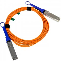 Atto Technology - CBL_-0310-005 - ATTO Ethernet Cable, QSFP Active, 5 Meter - QSFP for Network Device - 5 GB/s - 16.40 ft - 1 x QSFP Network - 1 x QSFP Network
