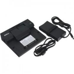 Dell - XX066 - NEW - Dell-IMSourcing E-Port Docking Station - for Notebook - USB - 4 x USB Ports - 4 x USB 2.0 - Network (RJ-45) - DVI - VGA - DisplayPort - eSATA - Docking