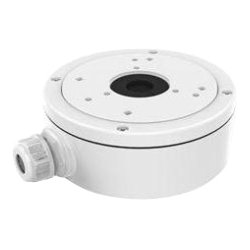 Hikvision - CBS - Hikvision CBS Mounting Box for Network Camera - 9.92 lb Load Capacity - White