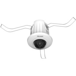 Hikvision - DS-2CD2E20F4MM - Hikvision HiWatch DS-2CD2E20F 2 Megapixel Network Camera - Color - Motion JPEG, H.264 - 1920 x 1080 - 4 mm - CMOS - Cable - Dome - Ceiling Mount, Wall Mount