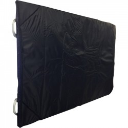 JELCO - JPC60SAB - JELCO JPC60SAB Padded Cover for 60 Sharp Aquos Board - Supports Interactive Display - Padded, Scratch Resistant - Nylon, Foam - Black
