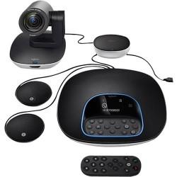 Logitech - 960-001060 - Logitech GROUP Video Conferencing System Plus Expansion Mics - 1920 x 1080 Video (Content) - 30 fps - USB