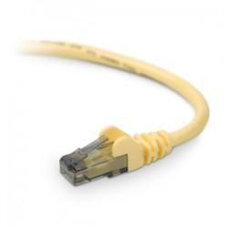 Belkin - A3L980-12-YLW - Belkin Cat.6 Cable - RJ-45 Male Network - RJ-45 Male Network - 12ft - Yellow