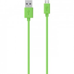 Belkin - F2CU012bt04-GRN - Belkin MIXIT Micro-USB to USB ChargeSync Cable - USB for Tablet PC, Digital Text Reader, Notebook, Speaker - 4 ft - 1 x Type A Male USB - 1 x Male Micro USB - Green