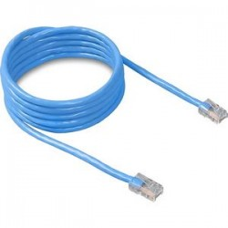 Belkin - A3L781-01-BLU - Belkin Cat 5E Patch Cable - RJ-45 Male - RJ-45 Male - 1ft - Blue