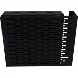 Rack Solution - 104-4778 - Rack Solutions Wall Mount for Computer - 50 lb Load Capacity - Black Powder Coat