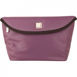 Urban Factory - BTY06UF - Urban Factory Betty's Carrying Case (Sleeve) for Camera - Dark Purple - Simili Leather - Shoulder Strap - 8.7 Height x 13 Width x 5.5 Depth