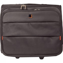 Urban Factory - CBT06UF - Urban Factory City Business Carrying Case (Trolley) for 14.1 Notebook, Accessories, Document - Nylon - Handle - 15.7 Height x 16.1 Width x 7.5 Depth