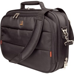 Urban Factory - CCC01UF-V2 - Urban Factory City Classic CCC01UF V2 Carrying Case for 15.6 Notebook - Black - 1680D Nylon - Shoulder Strap, Handle - 15 Height x 16.5 Width x 3.5 Depth