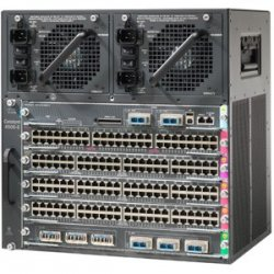 Cisco - WS-C4506E-S6L-4200 - Cisco Catalyst 4506-E Switch Chassis - 1 x Supervisor Engine, 5 x Line Card