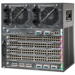 Cisco - WS-C4506E-S6L-1300 - Cisco Catalyst 4506-E Switch Chassis - 5 x Line Card, 1 x Supervisor Engine