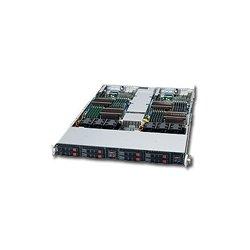 Supermicro - SYS-1026TT-IBXF - Supermicro SuperServer 1026TT-IBXF Barebone System - Intel 5500 - Socket B - Xeon (Dual-core), Xeon (Quad-core) - 48GB Memory Support - Gigabit Ethernet, Fast Ethernet - 1U Rack