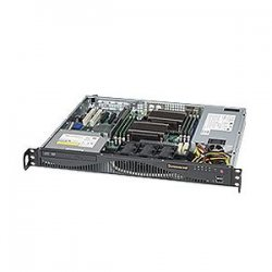 Supermicro - SYS-6016T-MR - Supermicro SuperServer 6016T-MR Barebone System - Intel 5500 - Socket B - Xeon (Quad-core), Xeon (Dual-core) - 24GB Memory Support - DVD-Reader (DVD-ROM) - Gigabit Ethernet - 1U Rack