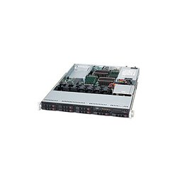 Supermicro - SYS-1026T-UF - Supermicro SuperServer 1026T-UF Barebone System - Intel 5520 - Socket B - Xeon (Dual-core), Xeon (Quad-core) - 96GB Memory Support - DVD-Reader (DVD-ROM) - Gigabit Ethernet, Fast Ethernet - 1U Rack