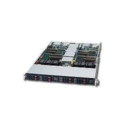 Supermicro - SYS-1026T-URF - Supermicro SuperServer 1026T-URF Barebone System - Intel 5520 - Socket B - Xeon (Dual-core), Xeon (Quad-core) - 96GB Memory Support - DVD-Reader (DVD-ROM) - Gigabit Ethernet, Fast Ethernet - 1U Rack