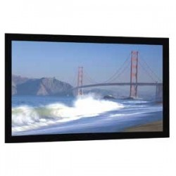 Da-Lite - 20389V - Da-Lite Cinema Contour Fixed Frame Projection Screen - 119 - 16:9 - Wall Mount - 58 x 104 - HD Progressive 1.1 Perf