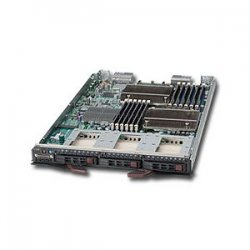 Supermicro - SBI-7426T-T3 - Supermicro SuperBlade 7426T-T3 Barebone System - Intel 5500 - Socket B - Xeon (Quad-core), Xeon (Dual-core) - 96GB Memory Support - Gigabit Ethernet - Blade