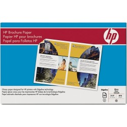 Hewlett Packard (HP) - Q8667A - HP Brochure/Flyer Paper - Ledger/Tabloid - 11 x 17 - 48 lb Basis Weight - Glossy