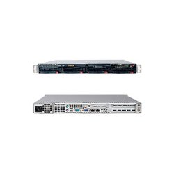 Supermicro - SYS-6015W-UV - Supermicro SuperServer 6015W-UV Barebone System - Intel 5400 - LGA771 Socket - Xeon (Quad-core), Xeon (Dual-core) - 1600MHz, 1333MHz, 1066MHz Bus Speed - 64GB Memory Support - DVD-Reader (DVD-ROM) - Gigabit Ethernet - 1U Rack