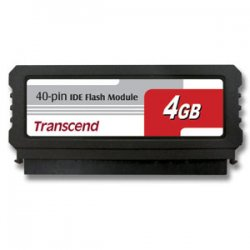 Transcend - TS4GDOM40V-S - Transcend 4GB Flash Module - 4 GB - IDE - Internal