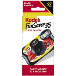 Kodak - 8617763 - Kodak Fun Saver One-Time-Use Camera with Flash - 35mm