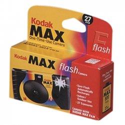 Kodak - 8737553 - Kodak Max One-Time Use Camera with Flash - 35mm