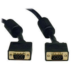 Tripp Lite - P502-001 - Tripp Lite 1ft VGA Coax Monitor Cable with RGB High Resolution HD15 M/M 1' - (HD15 M/M) 1-ft.