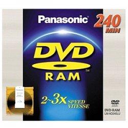 Panasonic - LM-AD240LU - Panasonic 3x DVD-RAM Double-Sided Media - 9.4GB