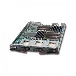 Supermicro - SBI-7426T-S3 - Supermicro SuperBlade 7426T-S3 Barebone System - Intel 5500 - Socket B - Xeon (Quad-core) - 96GB Memory Support - Gigabit Ethernet - Blade