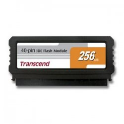 Transcend - TS256MDOM40V-S - Transcend 256MB IDE Flash Module - 256 MB - IDE - Internal
