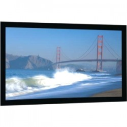 Da-Lite - 20912V - Da-Lite Cinema Contour Fixed Frame Projection Screen - 123 - 16:10 - Wall Mount - 65 x 104 - Da-Mat