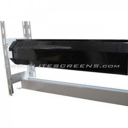 "Elite Screens - ZCTE135V - Elite Screens ZCTE135V Ceiling Mount for Projector Screen - 135"" Screen Support - White, Black"