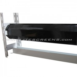 "Elite Screens - ZCTE100H - Elite Screens ZCTE100H Ceiling Mount for Projector Screen - 100"" Screen Support - White, Black"