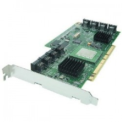 Adaptec - 2096700 - Adaptec 21610SA Serial ATA RAID Controller - 64MB - Up to 150MBps - 16 x 7-pin SATA Serial ATA/150 - Serial ATA Internal