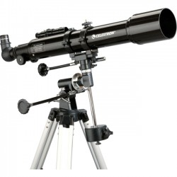Celestron - 21037 - Celestron PowerSeeker 70EQ Telescope - 10x/165x