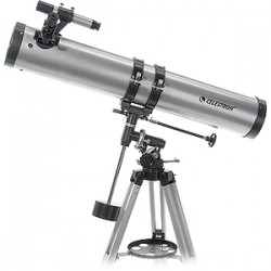 Celestron - 21045 - Celestron PowerSeeker 114EQ Telescope - 45x/225x - 900 mm Focal Length - f/7.89 - Manual German Equatorial Mount