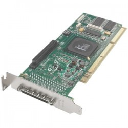 Adaptec - 2118900-R - Adaptec 2130SLP Single Channel Ultra 320 SCSI RAID Controller - 320MBps - 1 x 68-pin VHDCI Ultra320 SCSI - SCSI External, 1 x 68-pin HD-68 Ultra320 SCSI - SCSI Internal