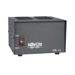 Tripp Lite - PR12 - Tripp Lite DC Power Supply 12A 120VAC to 13.8VDC AC to DC Conversion TAA GSA
